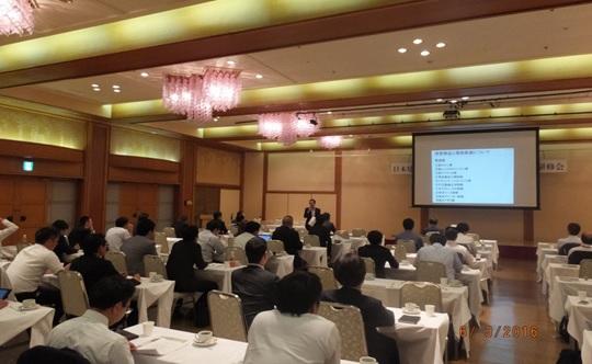 「協会の歴史と現状」の講義:菅野支部長